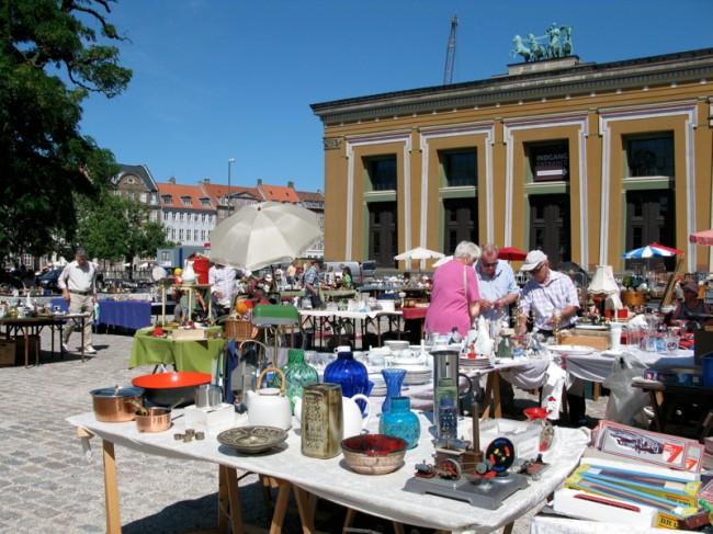 デンマーク蚤の市