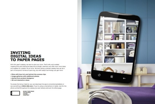 INVITING DIGITAL IDEAS TO PAPER PAGES