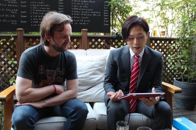 Tim Christensenにデンマーク語でインタビュー