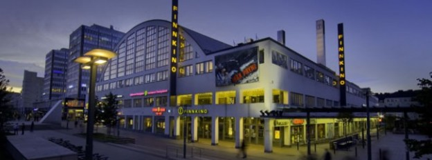 ヘルシンキ中央に構えるフィンキノのシネマコンプレックス