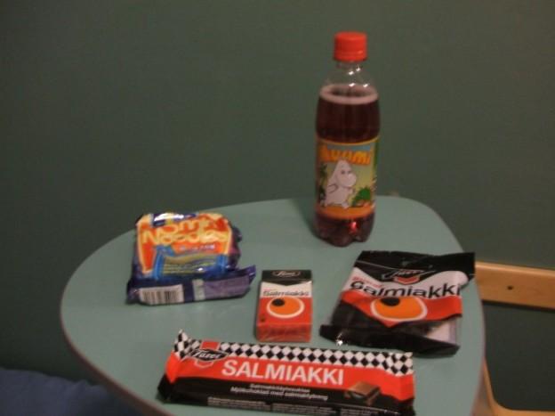 フィンランドのお菓子と言えば、サルミアッキ!