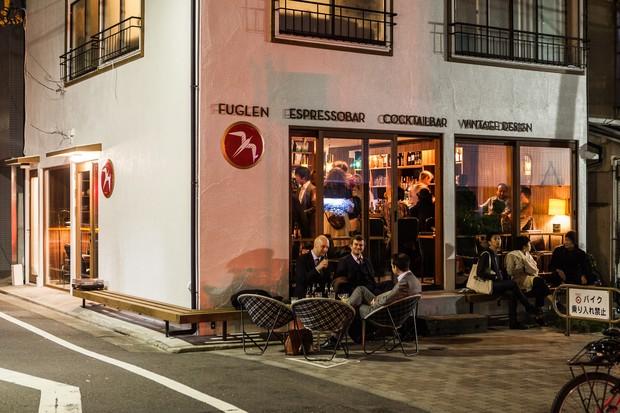 Fuglen Tokyo cafe00