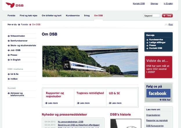 Christian Westphal DSB(デンマーク国鉄)