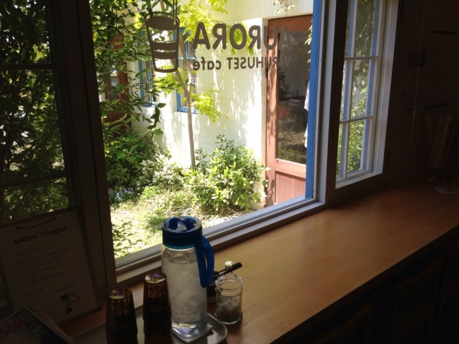 カウンター:AURORA VARUHUSET CAFE