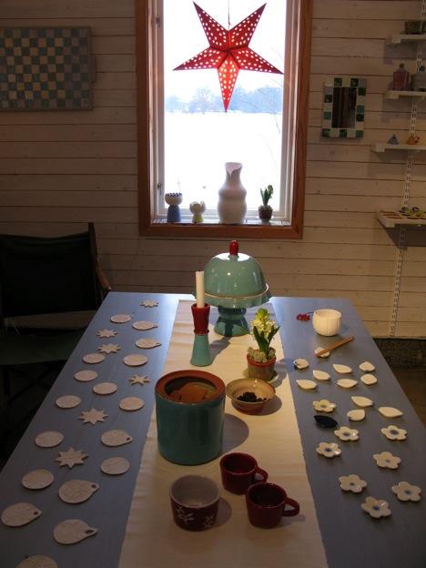 デンマークワーキングホリデー中に行ったスウェーデンでの陶芸作品展示