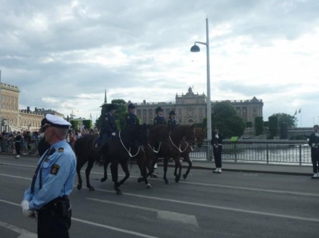 写真:女性騎手が多いのもスウェーデンならでは?
