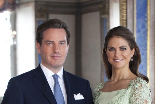 写真:クリス・オニール氏とマデレーン王女