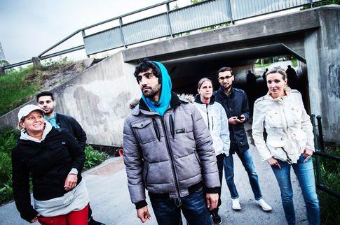 移民地区・Jakobsbergの自警団