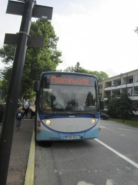 ムーミンワールドバス
