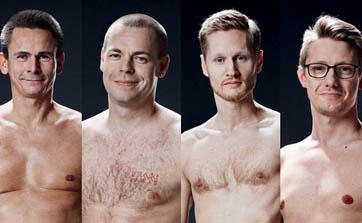 裸のデンマーク人