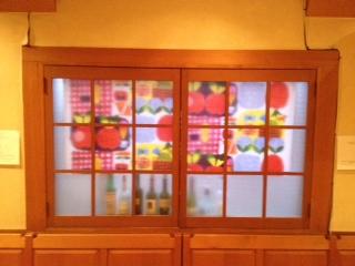 マリメッコ窓