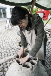 デンマークで陶器づくり