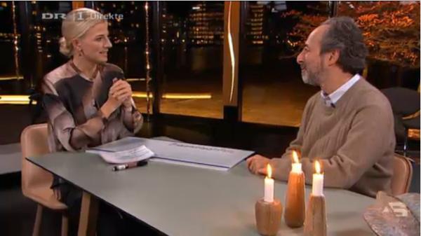 デンマーク国営放送DRのレナートさんへのインタビュー