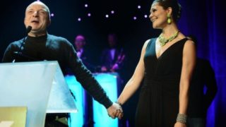 Crown Princess Victoria of Sweden at the QX GayGala