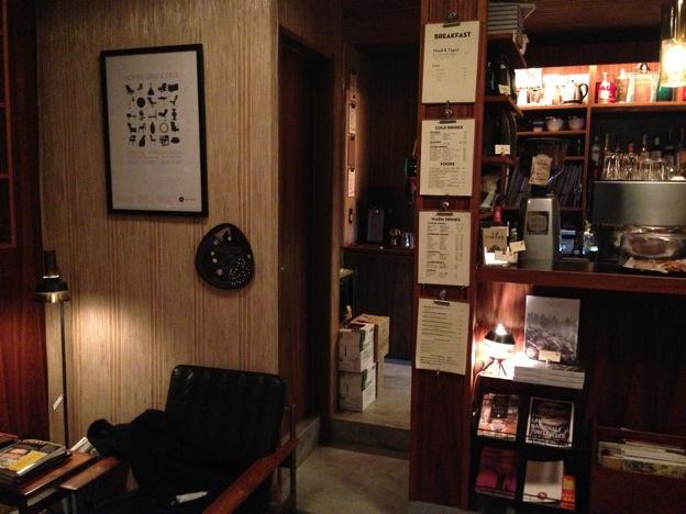 Fuglen Tokyo(フグレン・トウキョウ)店内
