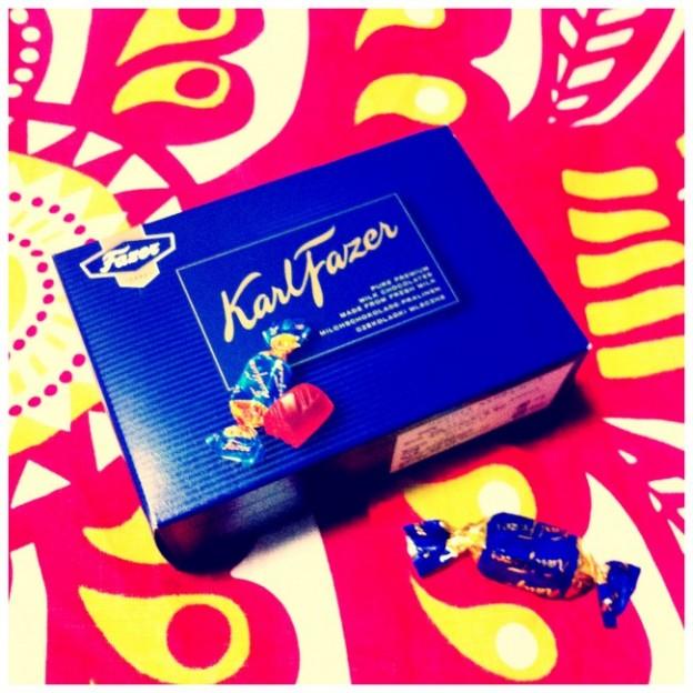Fazer(ファッツェル)社のチョコレート