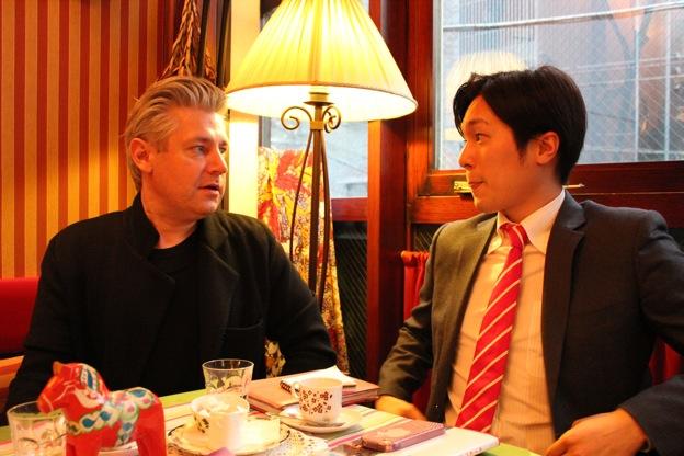 デンマーク人デザイナーのクリスチャン・ウェストフェールさんへインタビュー