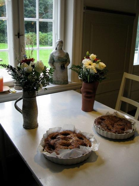 デンマークワーキングホリデー中に滞在した陶芸スタジオで食べたパイ