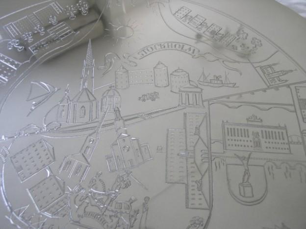 スヴェンスク・テンで売られている美知子さんの作品