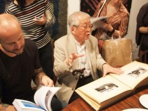 Makoto Shimazaki and peppe