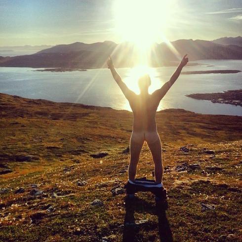 ノルウェー男性裸