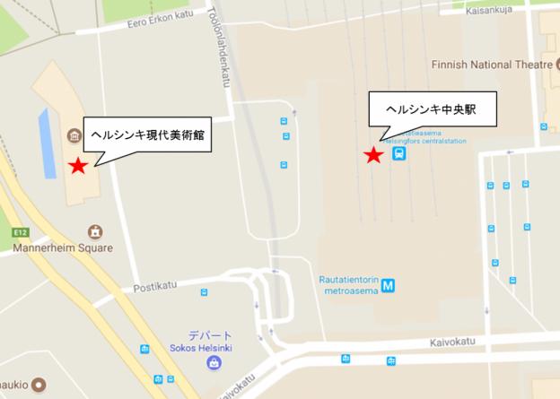 キアズマカフェ地図